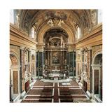 Church of Gesù E Maria Al Corso, 1633 - 1675 Giclee Print
