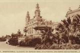 The Casino and Theatre, Monte Carlo Photographic Print