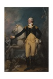 General George Washington at Trenton, 1792 Giclee Print by John Trumbull