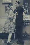 Couple Dancing the Black Bottom Photographic Print
