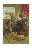 Destruction of Don Quixote's Library Giclee Print by Sir John Gilbert