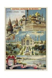Sights of India Giclee Print