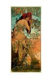 Carriage Dealers, 1902 Gicléedruk van Alphonse Mucha