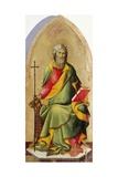 St Andrew Apostle Giclée-tryk af Lippo Memmi