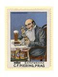 C F Piering Mustard, Prague Giclee Print