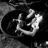 Bath Time Thailand, 2011 Photographic Print by Shaun Taylor McManus