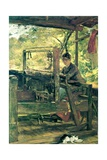 The Weaver, Tennessee, C.1885 Giclee Print by Elizabeth Nourse