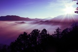 Sunrise over Ali Mountain Taiwan, 2011 Photographic Print by Shaun Taylor McManus