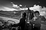 Trailer Ride Tibet, 2011 Photographic Print by Shaun Taylor McManus