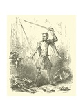 Don Quixote Giclee Print by Sir John Gilbert