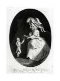 The Little Count Boruwlaski, 1788 Giclee Print by Anthony van Assen