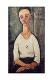 Lunia Czechowska Giclee Print by Amedeo Modigliani