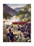 The Battle of Busaco, 1810 Giclee Print by E. A. Dyer
