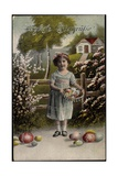 Easter Greetings Card Giclee Print