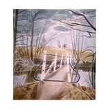 Iron Bridge at Ewenbridge, 1942 Giclee-trykk av Eric Ravilious
