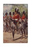 The Royal Scots Greys Giclee Print by Henry Payne