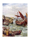 Departure of the Romans Giclee Print by Henry Payne