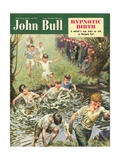 Front Cover of 'John Bull', October 1950 Giclee Print