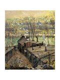 The Pigeon Coop, C.1916 Giclee Print by Ernest Lawson
