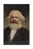 Karl Marx Giclee Print