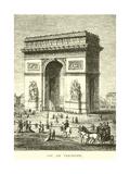 Arc De Triomphe Giclee Print