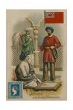 Postal Service in British India Giclee Print