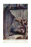 Scene from a Christmas Carol, by Charles Dickens Giclee Print