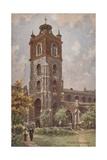 St Giles' Cripplegate Giclee Print by Charles Edwin Flower