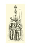 Roman Soldiers Giclee Print