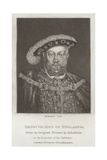 Henry VIII King of England Giclee Print by Hans Holbein the Younger