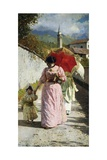 Walk in Sun, 1892 Giclee Print by Luigi Nono