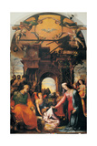Nativity, 1522 Giclée-tryk af Domenico Beccafumi