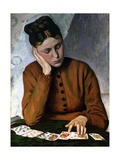 The Fortune Teller, 1869 Giclee Print by Jean Frederic Bazille