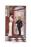 A Messenger Boy Giclee Print by Ernest Ibbetson