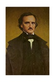 Edgar Allan Poe Giclee Print