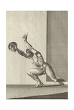 Rechab with the Head of Ish-Bosheth Giclee Print by Henry Fuseli