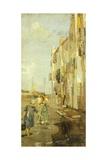 In Chioggia Giclee Print by Ettore Tito