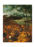 The Gloomy Day Giclee Print by Pieter Bruegel the Elder