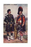 The Seaforth Highlanders Giclee Print by Henry Payne