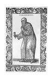 Vergognosi 1590 Giclée-Druck von Cesare Vecellio