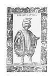Man Wearing Dogalina, 1590 Giclée-Druck von Cesare Vecellio