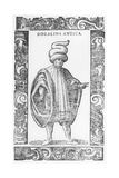 Man Wearing Dogalina, 1590 Giclee Print by Cesare Vecellio