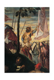 The Ascent to Calvary Giclee Print by Jacopo Robusti Tintoretto