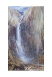 Aber Falls Giclee Print by Henry Clarence Whaite