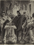 Bassanio's Choice Photographic Print by Lionel Royer