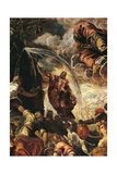 Moses Drawing Water from the Rocks Giclee Print by Jacopo Robusti Tintoretto
