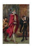 Thus Accoutred, He Entered the State Room Giclee Print by Paul Hardy