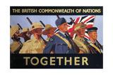 Together', 2nd World War Recruitment Poster Giclee Print