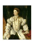 Portrait of a Lady in White, C.1540 Giclee Print by Moretto Da Brescia