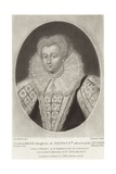 Elizabeth Giclee Print by Nicholas Hilliard